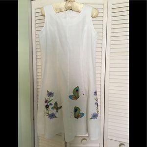 Dresses & Skirts - White linen dress